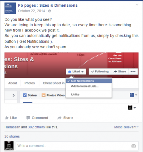 Make A facebook post asking your fans to subscribe to you and make it sticky